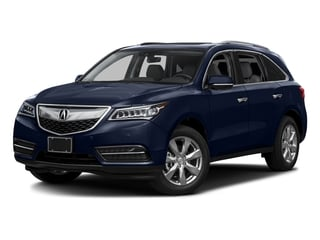 Fathom Blue Pearl 2016 Acura MDX Pictures MDX Utility 4D Advance 2WD V6 photos front view