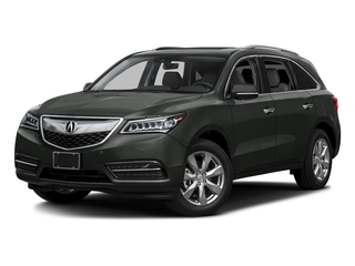 Forest Mist Metallic 2016 Acura MDX Pictures MDX Utility 4D Advance 2WD V6 photos front view