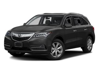 Graphite Luster Metallic 2016 Acura MDX Pictures MDX Utility 4D Advance 2WD V6 photos front view