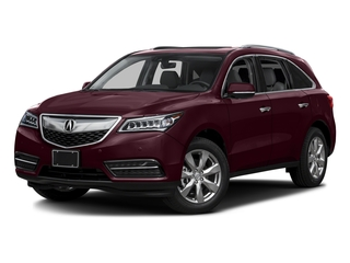Dark Cherry Pearl 2016 Acura MDX Pictures MDX Utility 4D Advance 2WD V6 photos front view