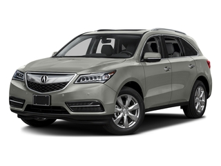 Lunar Silver Metallic 2016 Acura MDX Pictures MDX Utility 4D Advance 2WD V6 photos front view