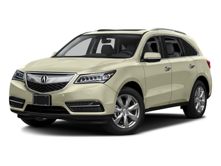 White Diamond Pearl 2016 Acura MDX Pictures MDX Utility 4D Advance 2WD V6 photos front view