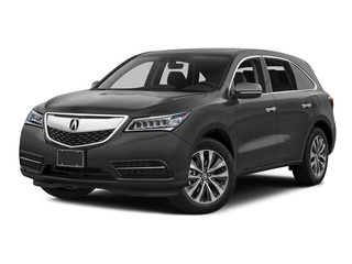 Graphite Luster Metallic 2016 Acura MDX Pictures MDX Utility 4D Technology 2WD V6 photos front view
