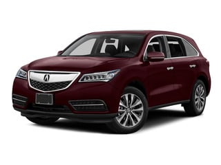 Dark Cherry Pearl 2016 Acura MDX Pictures MDX Utility 4D Technology 2WD V6 photos front view