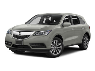 Lunar Silver Metallic 2016 Acura MDX Pictures MDX Utility 4D Technology 2WD V6 photos front view