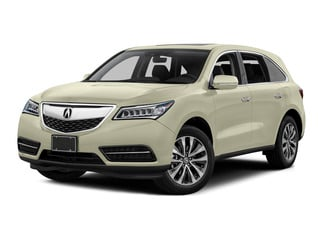 White Diamond Pearl 2016 Acura MDX Pictures MDX Utility 4D Technology 2WD V6 photos front view