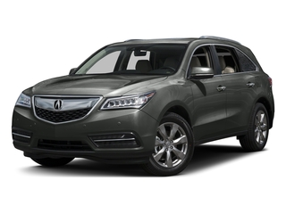 Forest Mist Metallic 2016 Acura MDX Pictures MDX Utility 4D Advance AWD V6 photos front view