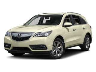White Diamond Pearl 2016 Acura MDX Pictures MDX Utility 4D Advance AWD V6 photos front view