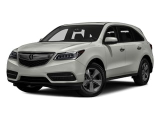 Lunar Silver Metallic 2016 Acura MDX Pictures MDX Utility 4D 2WD V6 photos front view