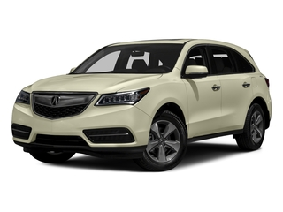 White Diamond Pearl 2016 Acura MDX Pictures MDX Utility 4D 2WD V6 photos front view