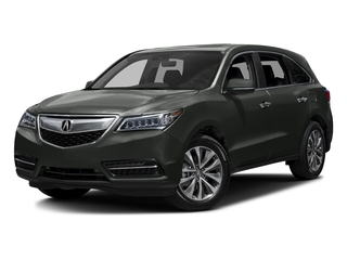 Forest Mist Metallic 2016 Acura MDX Pictures MDX Utility 4D Technology DVD 2WD V6 photos front view
