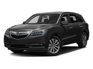 Graphite Luster Metallic 2016 Acura MDX Pictures MDX Utility 4D Technology DVD 2WD V6 photos front view