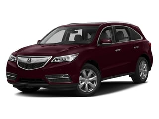 Dark Cherry Pearl 2016 Acura MDX Pictures MDX Utility 4D Advance DVD 2WD V6 photos front view