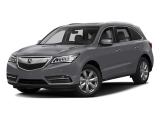 Lunar Silver Metallic 2016 Acura MDX Pictures MDX Utility 4D Advance DVD 2WD V6 photos front view