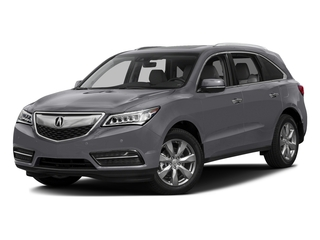 Lunar Silver Metallic 2016 Acura MDX Pictures MDX Utility 4D Advance DVD AWD V6 photos front view