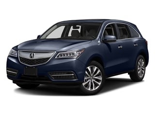 Fathom Blue Pearl 2016 Acura MDX Pictures MDX Utility 4D Technology AWD V6 photos front view