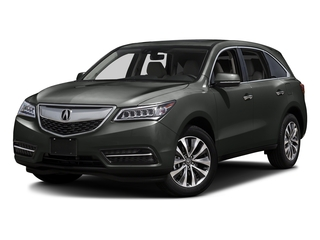 Forest Mist Metallic 2016 Acura MDX Pictures MDX Utility 4D Technology AWD V6 photos front view