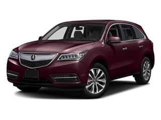 Dark Cherry Pearl 2016 Acura MDX Pictures MDX Utility 4D Technology AWD V6 photos front view
