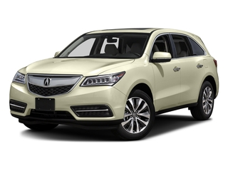 White Diamond Pearl 2016 Acura MDX Pictures MDX Utility 4D Technology AWD V6 photos front view