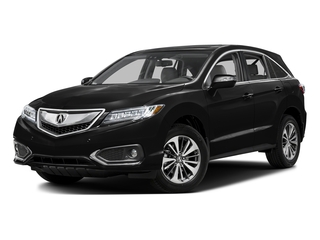 Crystal Black Pearl 2016 Acura RDX Pictures RDX Utility 4D Advance 2WD V6 photos front view