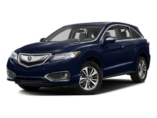 Fathom Blue Pearl 2016 Acura RDX Pictures RDX Utility 4D Advance 2WD V6 photos front view