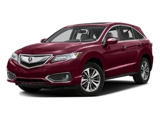 Basque Red Pearl II 2016 Acura RDX Pictures RDX Utility 4D Advance 2WD V6 photos front view
