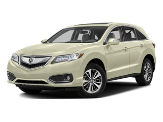 White Diamond Pearl 2016 Acura RDX Pictures RDX Utility 4D Advance 2WD V6 photos front view