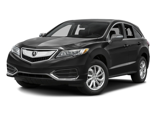 Graphite Luster Metallic 2016 Acura RDX Pictures RDX Utility 4D Technology AWD V6 photos front view