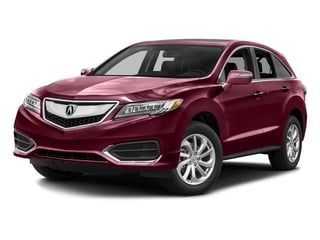 Basque Red Pearl II 2016 Acura RDX Pictures RDX Utility 4D Technology AWD V6 photos front view