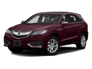 Basque Red Pearl II 2016 Acura RDX Pictures RDX Utility 4D Technology 2WD V6 photos front view