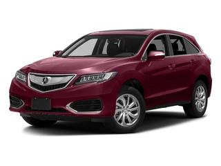 Basque Red Pearl II 2016 Acura RDX Pictures RDX Utility 4D 2WD V6 photos front view