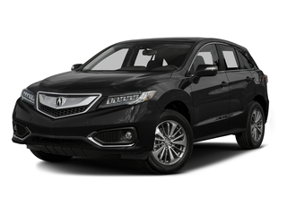 Crystal Black Pearl 2016 Acura RDX Pictures RDX Utility 4D Advance AWD V6 photos front view