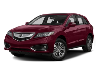 Basque Red Pearl II 2016 Acura RDX Pictures RDX Utility 4D Advance AWD V6 photos front view