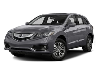 Slate Silver Metallic 2016 Acura RDX Pictures RDX Utility 4D Advance AWD V6 photos front view