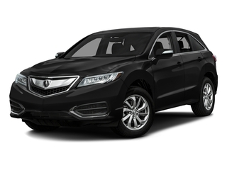 Crystal Black Pearl 2016 Acura RDX Pictures RDX Utility 4D AWD V6 photos front view