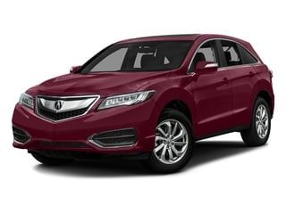 Basque Red Pearl II 2016 Acura RDX Pictures RDX Utility 4D AWD V6 photos front view