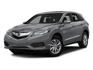 Slate Silver Metallic 2016 Acura RDX Pictures RDX Utility 4D AWD V6 photos front view