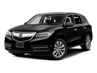 Crystal Black Pearl 2016 Acura MDX Pictures MDX Utility 4D Technology DVD AWD V6 photos front view