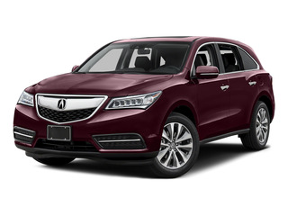 Dark Cherry Pearl 2016 Acura MDX Pictures MDX Utility 4D Technology DVD AWD V6 photos front view