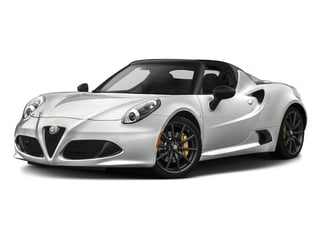 White 2016 Alfa Romeo 4C Pictures 4C Convertible 2D Spyder I4 Turbo photos front view