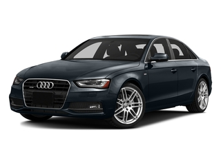 Moonlight Blue Metallic 2016 Audi A4 Pictures A4 Sedan 4D 2.0T Premium 2WD photos front view