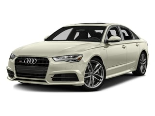 Glacier White Metallic 2016 Audi S6 Pictures S6 Sedan 4D S6 Premium Plus AWD photos front view