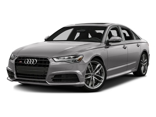 Florett Silver Metallic 2016 Audi S6 Pictures S6 Sedan 4D S6 Premium Plus AWD photos front view