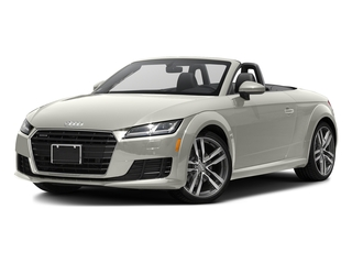 Ibis White/Black Roof 2016 Audi TT Pictures TT Roadster 2D AWD photos front view