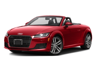 Tango Red Metallic/Black Roof 2016 Audi TT Pictures TT Roadster 2D AWD photos front view