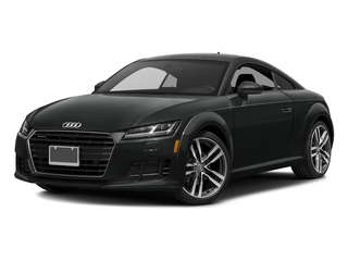 Mythos Black Metallic 2016 Audi TT Pictures TT Coupe 2D AWD photos front view