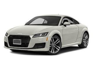 Ibis White 2016 Audi TT Pictures TT Coupe 2D AWD photos front view