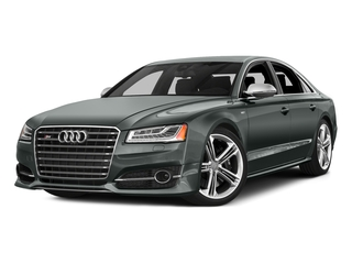 Monsoon Gray Metallic 2016 Audi S8 Pictures S8 Sedan 4D S8 AWD V8 Turbo photos front view