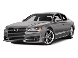 Cuvee Silver Metallic 2016 Audi S8 Pictures S8 Sedan 4D S8 AWD V8 Turbo photos front view