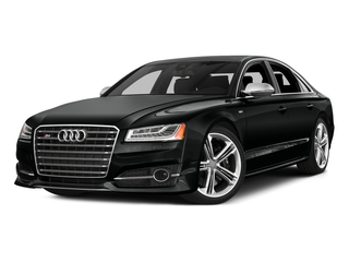 Mythos Black Metallic 2016 Audi S8 Pictures S8 Sedan 4D S8 AWD V8 Turbo photos front view